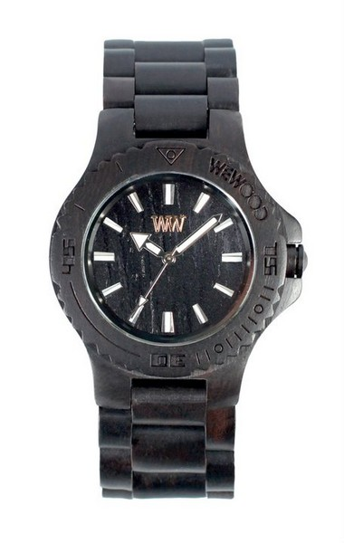 Стильные деревянные часы от WEWOOD