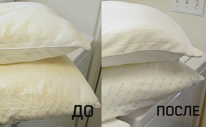 Эффективный способ, как вернуть белизну постельному белью и подушкам