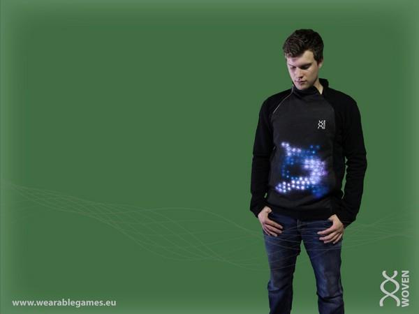 Игровая приставка Woven, интегрированная в повседневную одежду