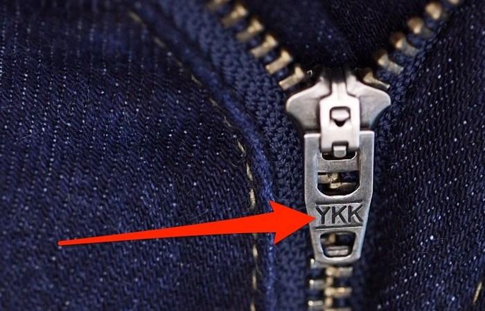 Что скрывается за буквами «YKK»?