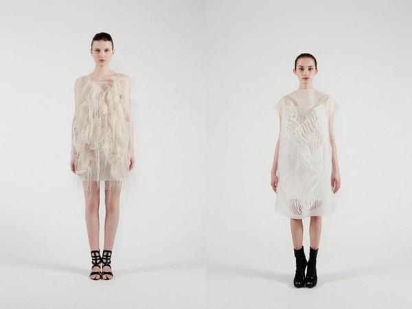 Платья, требующие внимания от Йинг Гао (Ying Gao)
