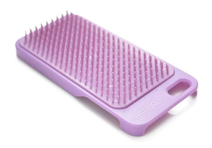 Yobrush – кейс для айфона с функцией расчёски