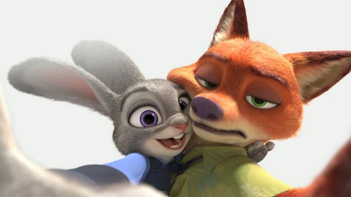Промо-кадр из мультфильма Disney «Зверополис» («Zootopia»)