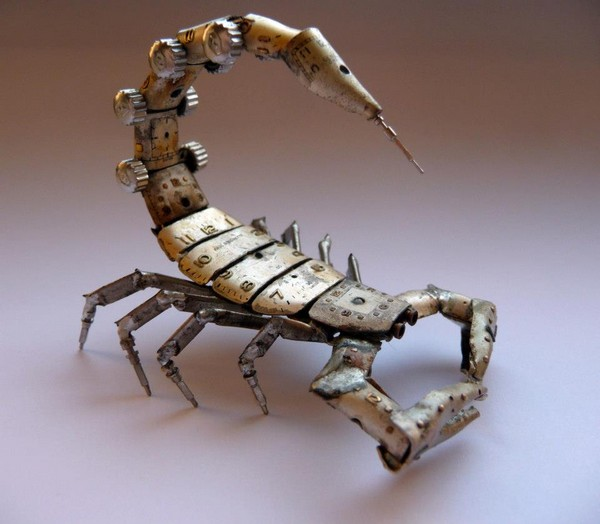 Механические насекомые и украшения в стиле  стимпанк от Джейсона Гершенсона-Гейтса (Jason Gershenson-Gates)