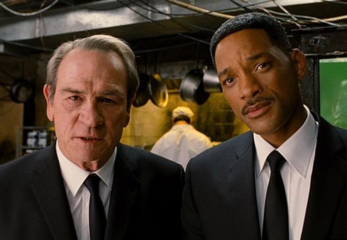 Кадр из фильма «Люди в чёрном», 1997 год
