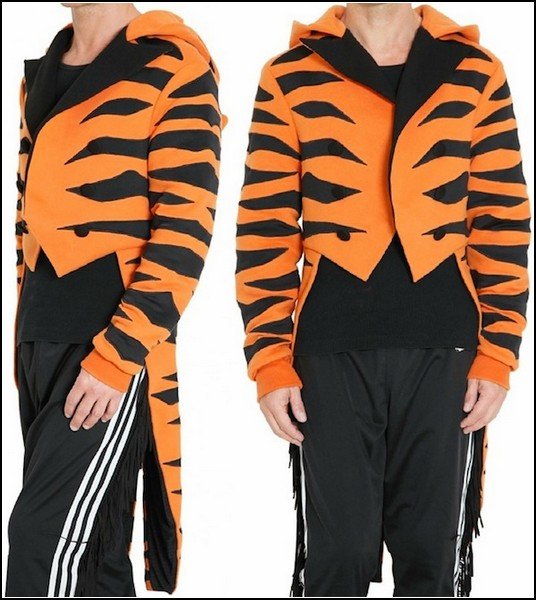 Тигровый фрак Originals Tiger Tuxedo Jacket от Adidas Jeremy Scott