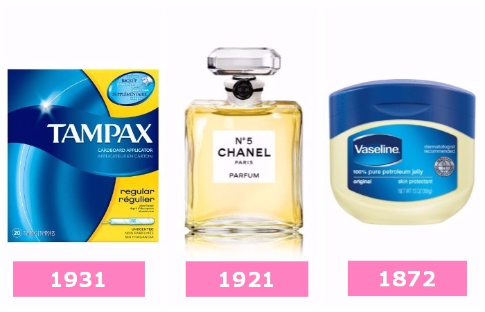 Истинный возраст популярных бьюти- и fashion-продуктов