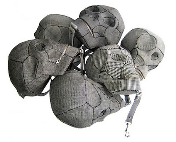 Твидовые черепа от Айтора Срупа (Aitor Throup)