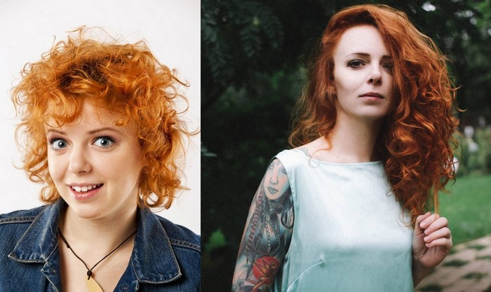 Женю Огурцову можно узнать только по рыжим волосам.