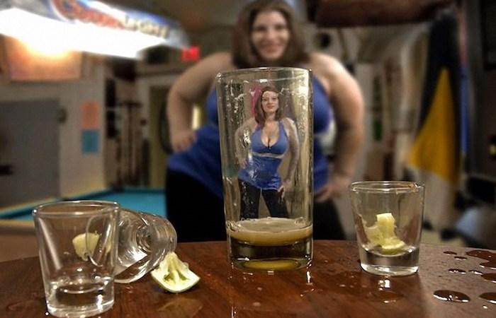 Алкоголь и секреты привлекательности.