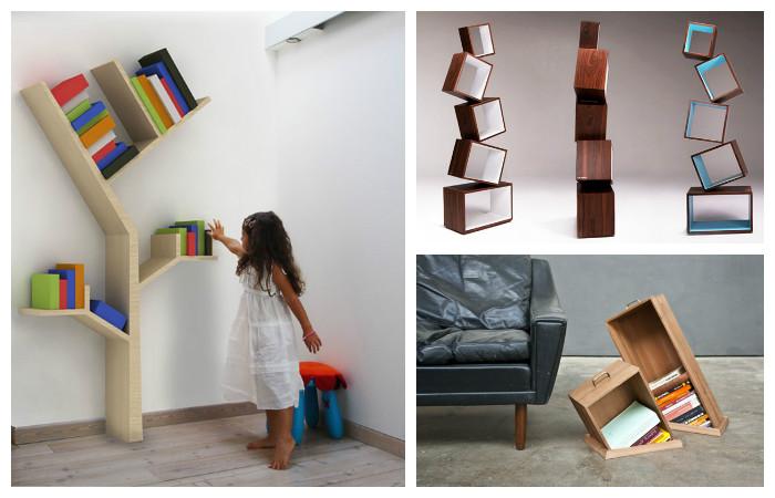 25 книжных полок с фантастическим дизайном