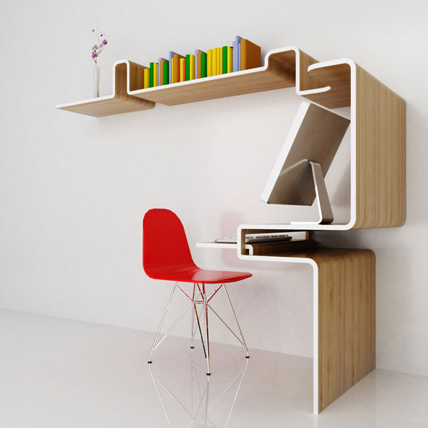 Целый кабинет от студию MisoSoupDesign