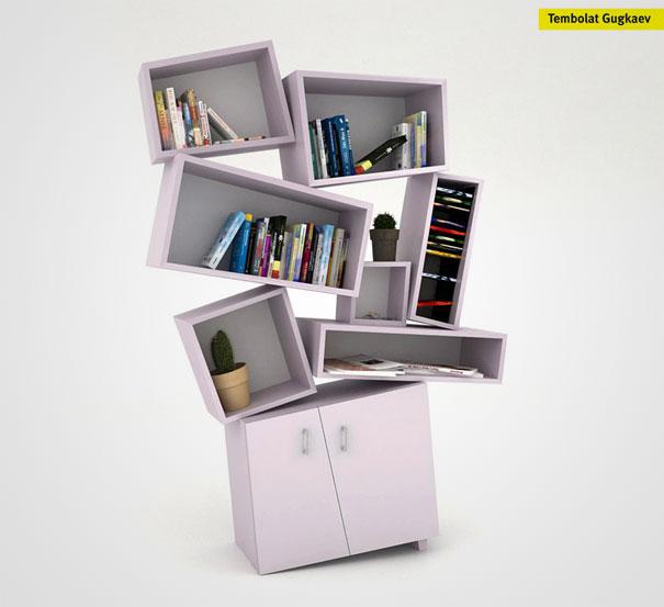 No se asuste: todo se queda en su lugar! Diseñador: Tembolat Gugkaev