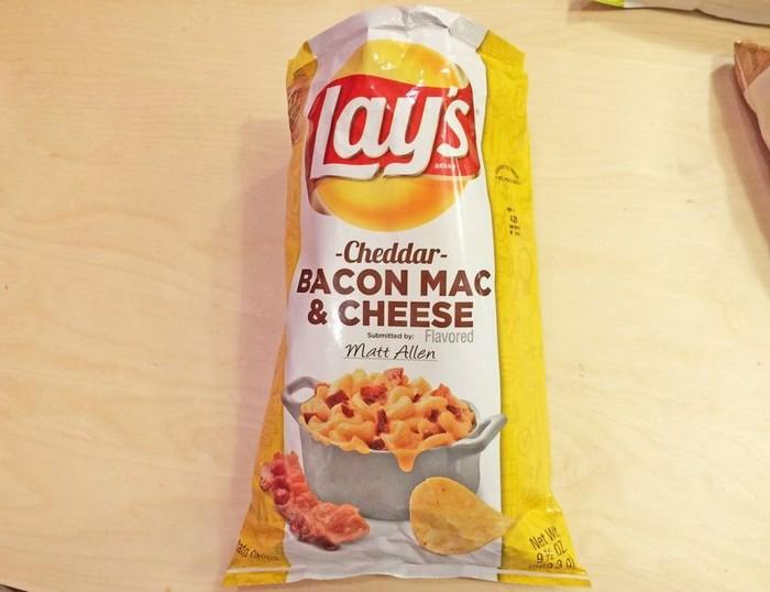 Чипсы с самыми невообразимыми вкусами: полноценный обед студента
