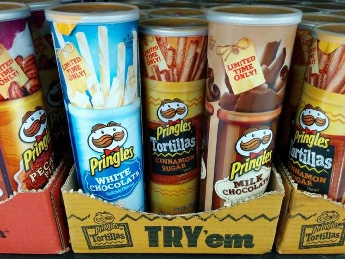 Чипсы с самыми невообразимыми вкусами: чипсы или шоколадка? И то, и другое!