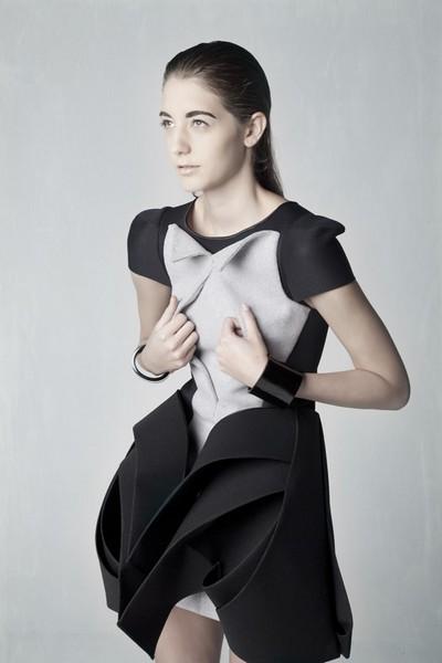Одежда, распечатанная на 3D-принтере от Амелии Агоста (Amelia Agosta)