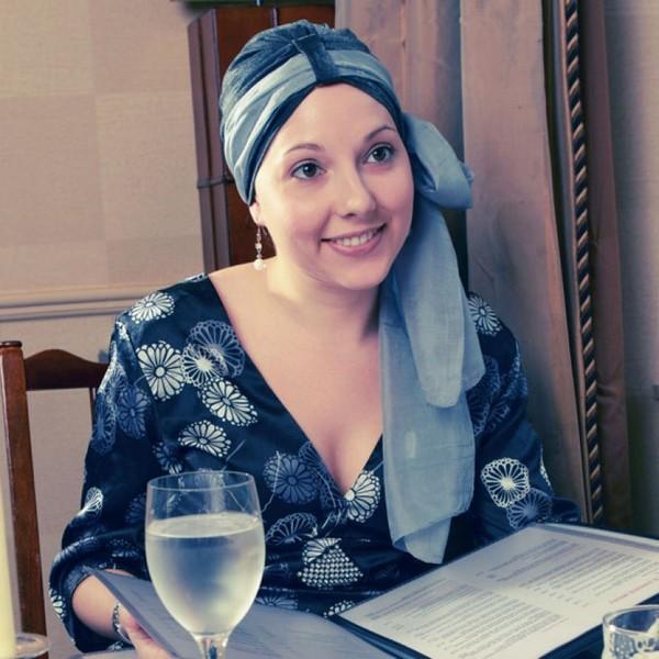 Платки и тюрбаны с терапевтическим эффектом Asha