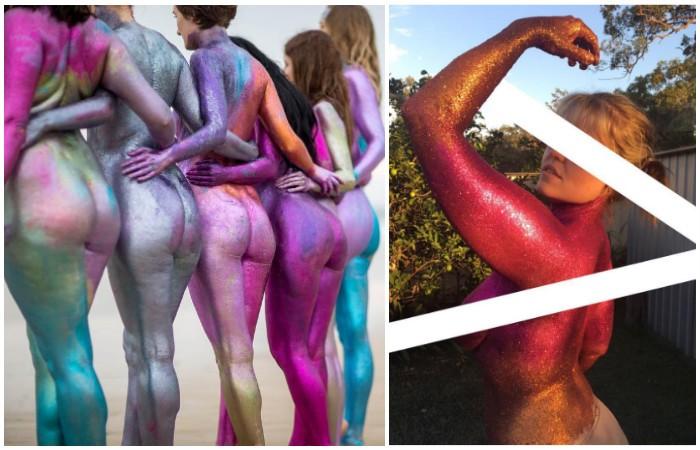 Социальный фотопроект, воспевающий красоту женского тела без фотошопа
