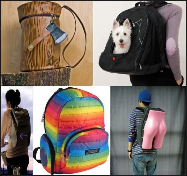 Обзор самых необычных рюкзаков