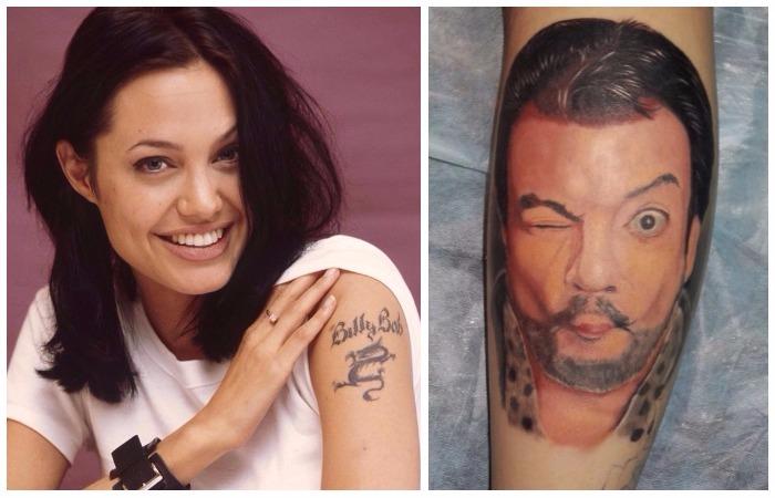 8 странных и просто нелепых татуировок знаменитостей