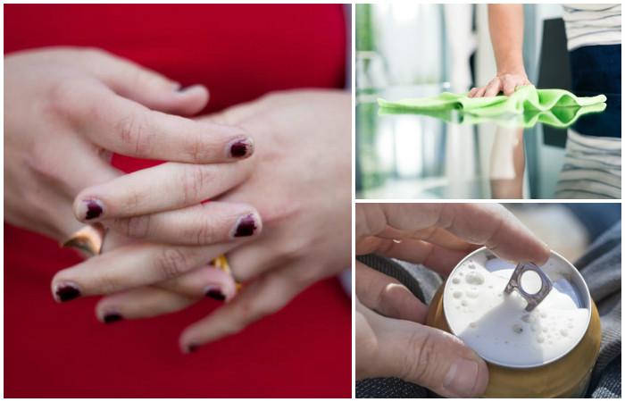 7 вредных привычек, которые ежедневно портят ваши ногти