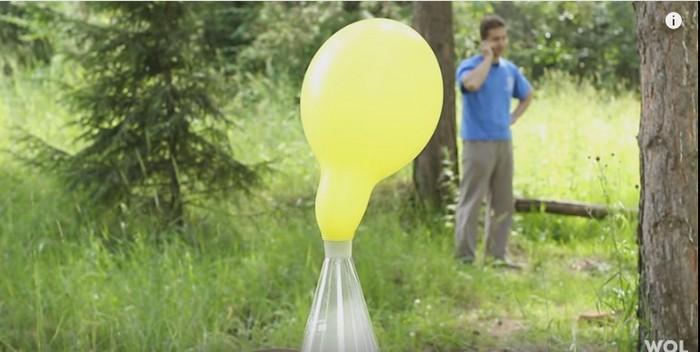 Как заставить шарик летать без гелия