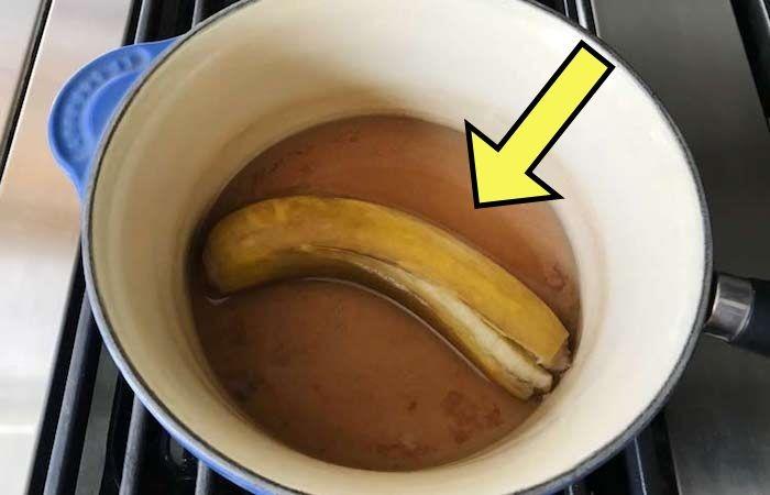 Зачем отваривать банановые шкурки?