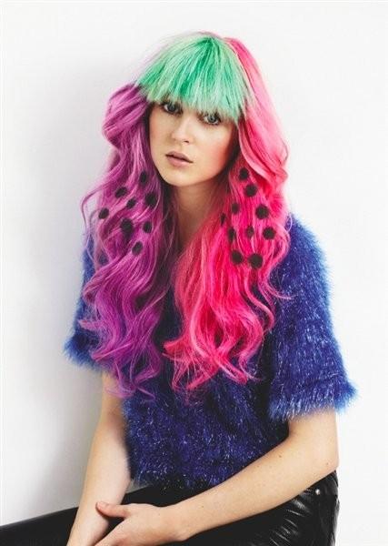 Накладные пряди ярких волос для девчонок любого возраста и их кукол