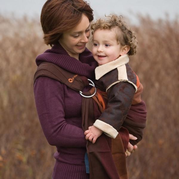 Стильные слинги для детей и мам от Babylonia оценят сторонники «естественного» воспитания
