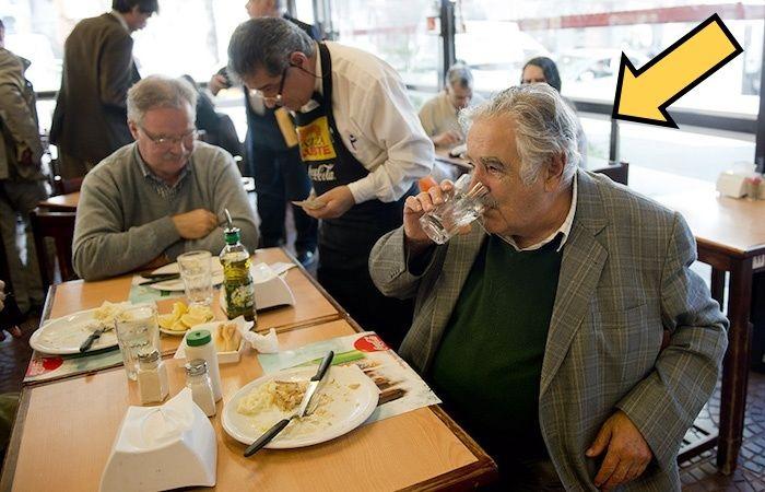 Хосе Мухика – беднейший глава государства в современной истории.
