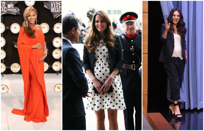 10 самых стильных образов беременных знаменитостей, которые можно смело позаимствовать