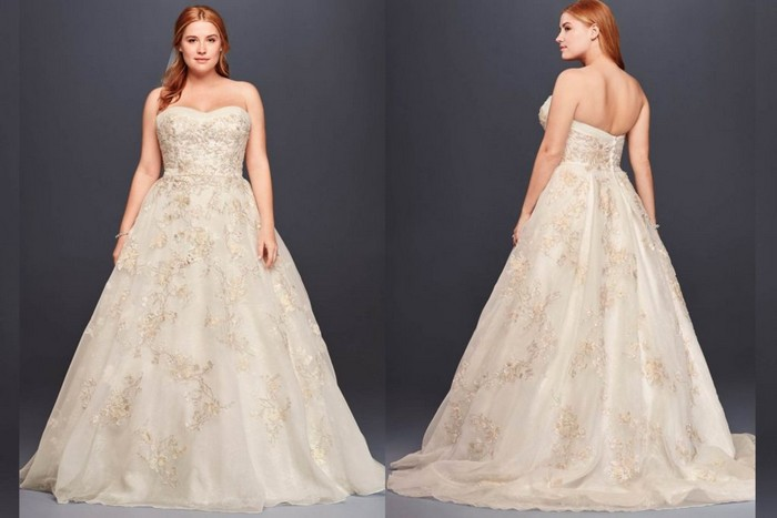 Как выбрать идеальное свадебное платье для своего типа фигуры