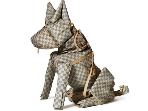 «Брендовые» фигурки животных к юбилею продукции Louis Vuitton