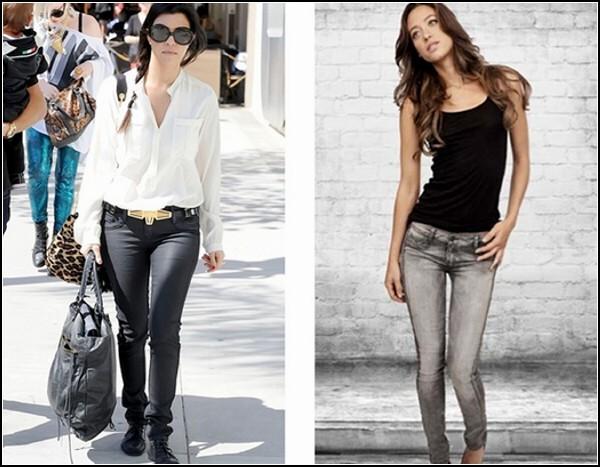 Стильные джинсы приглянулись знаменитостям