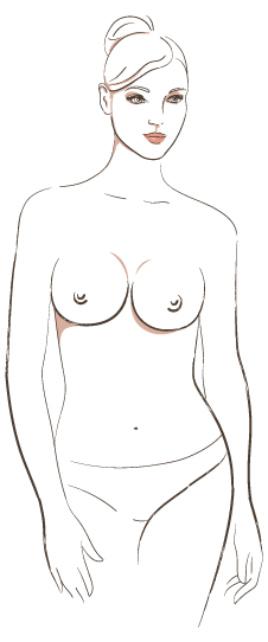 7 распространённых форм женской груди и какое бельё им подходит