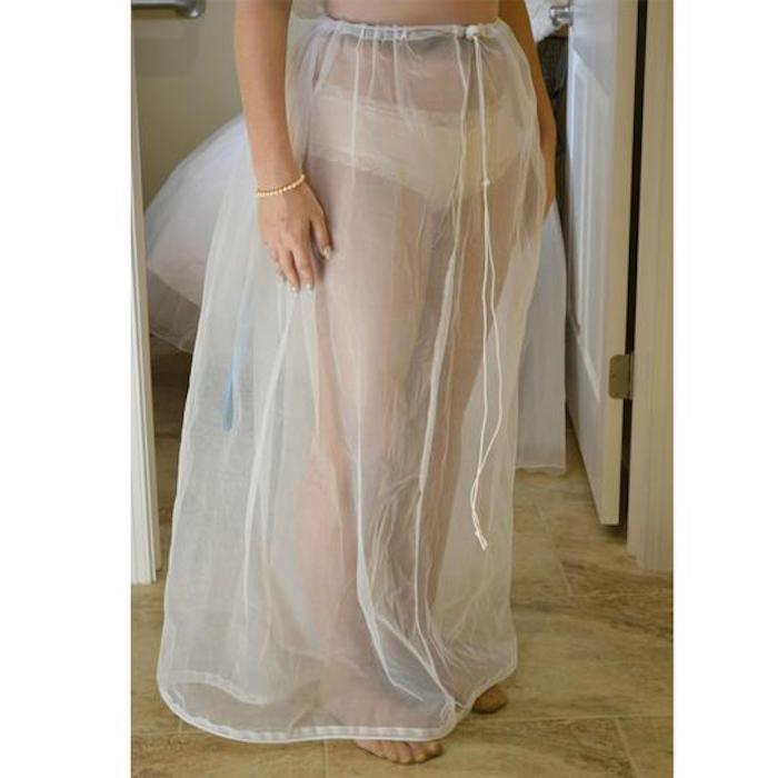 Bridal Buddy: нижняя юбка с тонкими шнурками.