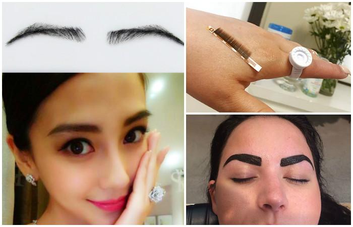 «Наращивание» или накладные брови – процедура, на которую копят деньги сотни тысяч женщин