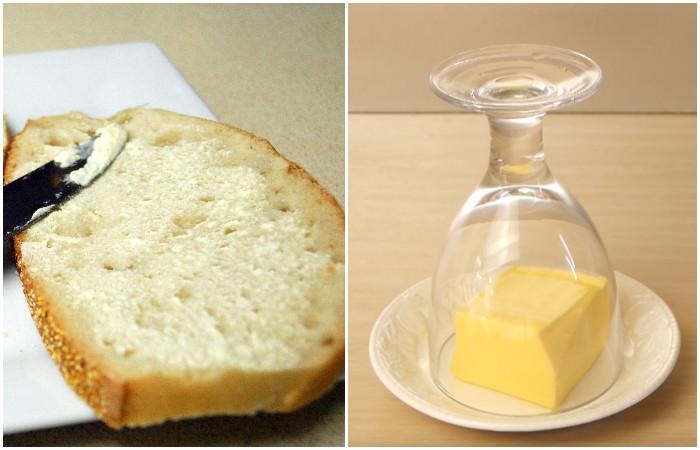 Лайфхак на завтрак: как быстро сделать холодное масло для бутерброда идеально мягким