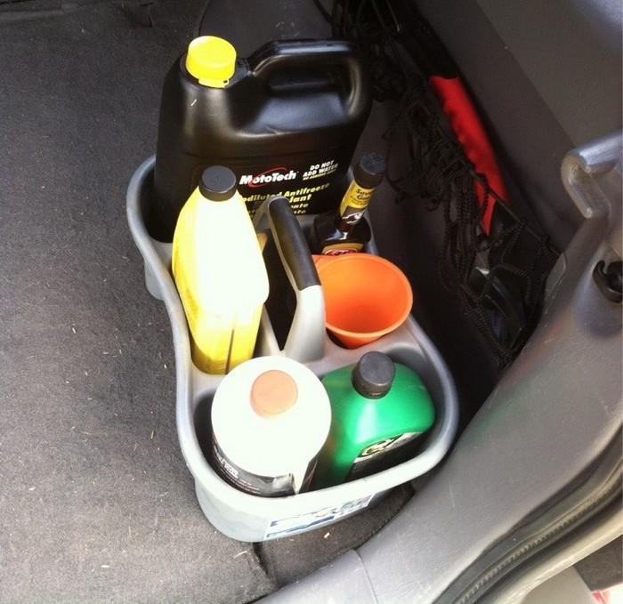 Для автомобильных жидкостей.