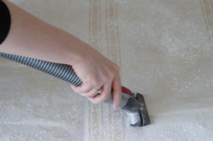 Внимание: пылесборник должен быть чистым