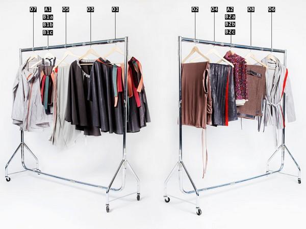 Универсальный гардероб Carry on Closet, в котором только 10 предметов