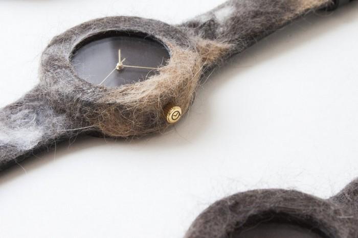 The Companion Collection – уникальные часы «под заказ» из шерсти ваших домашних животных