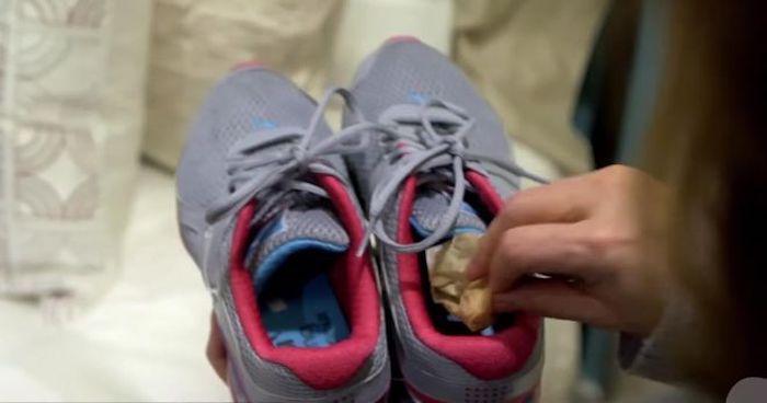Чай против «ароматной» обуви.