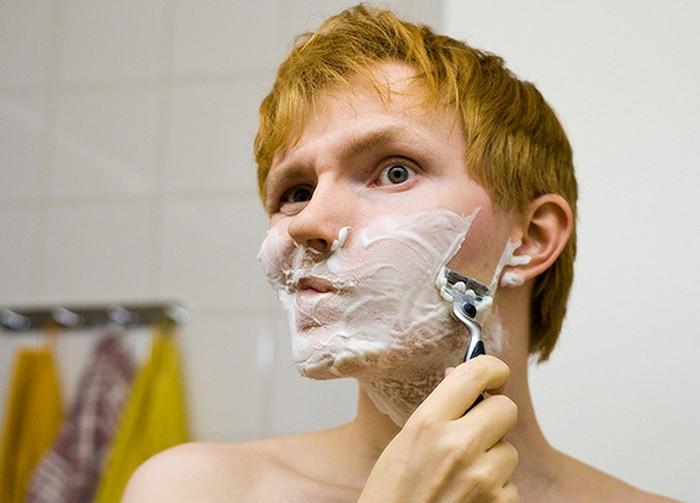 С чувствительной кожей без пенки для бритья – никуда.