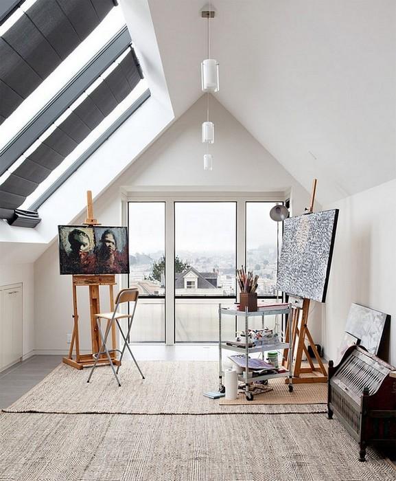 Комната, в которой живёт вдохновение.