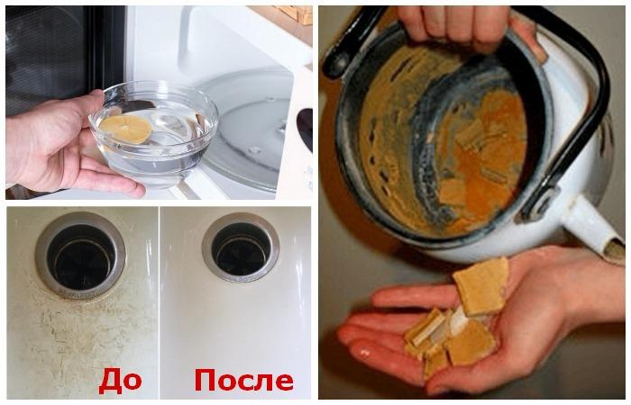 10 советов для идеальной чистоты на кухне и в ванной.