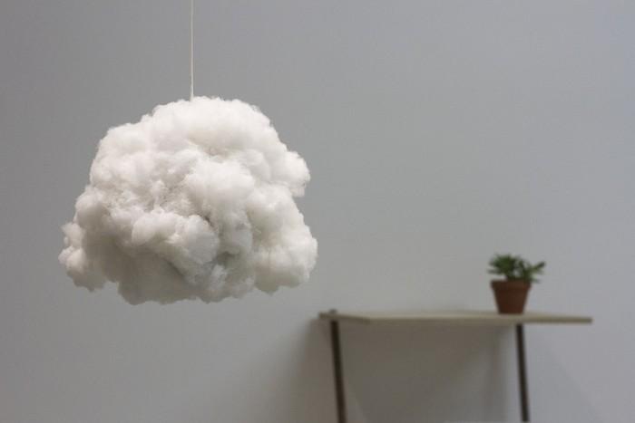 Как сделать милейший светильник-облако своими руками