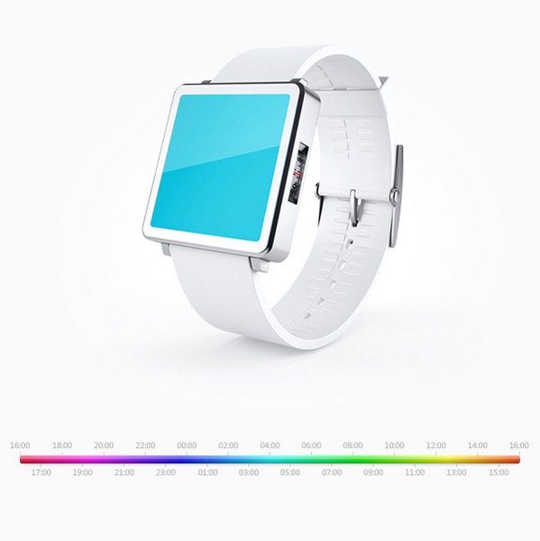 Часы Colorclock от Максима Мезенцева научат определять время по цвету