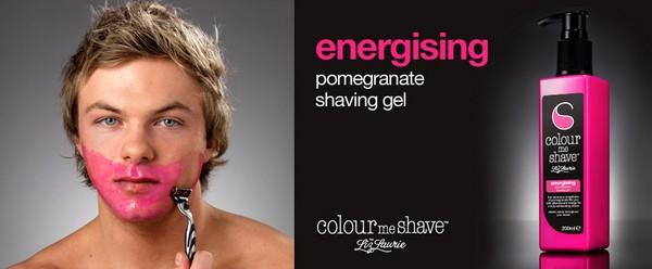Разноцветные гели для бритья Colour Me Shave