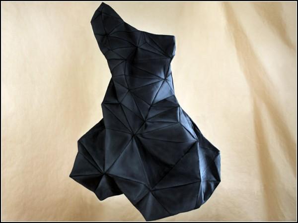 Сделать оригинальное платье можно даже за несколько минут